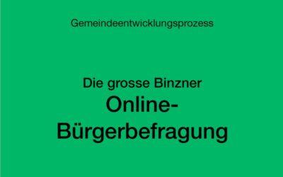 Online-Umfrage der Binzener Bevölkerung